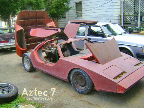 Mid Engine Aztec 7 Project Car