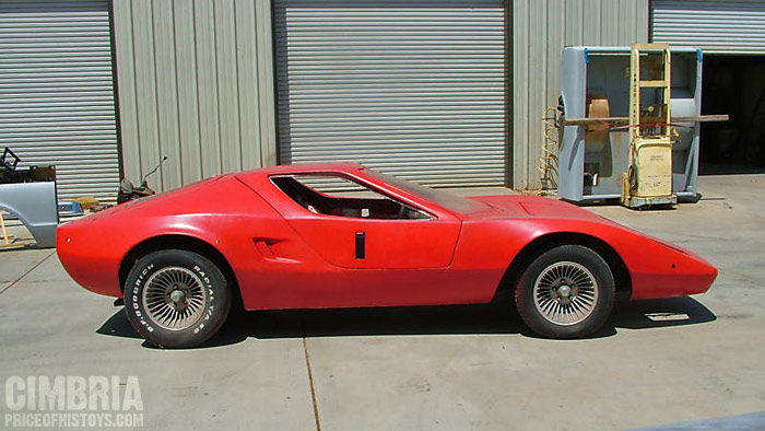 """Cimbria Project kit Car, Emphasis on """"Project"""""""