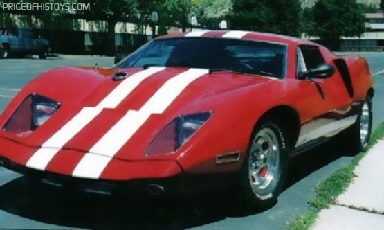 Unusual And Ultra Rare Gt 40 Kit