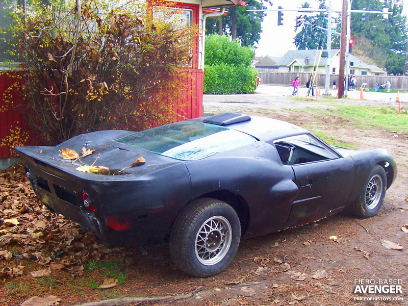 Fiero bodykits archives kit car and handcrafted vehicle history fiero based avenger sciox Gallery