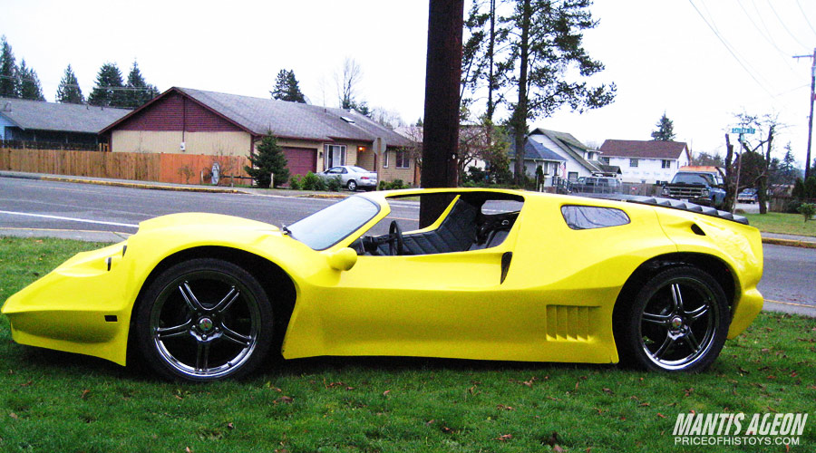 Avenger Archives Handcrafted Fiberglass Kit Car History
