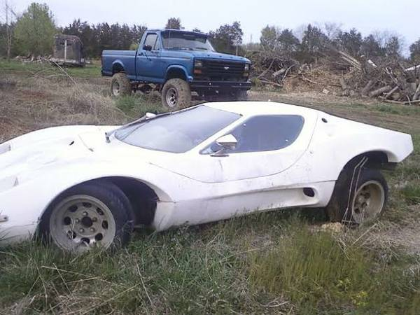 White Sterling Kit Car Project