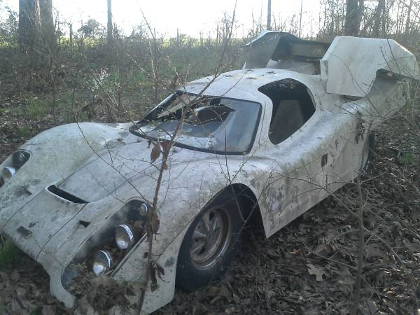 Laser 917 Kit Car Project In East Texas