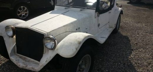 white mini mark kit car