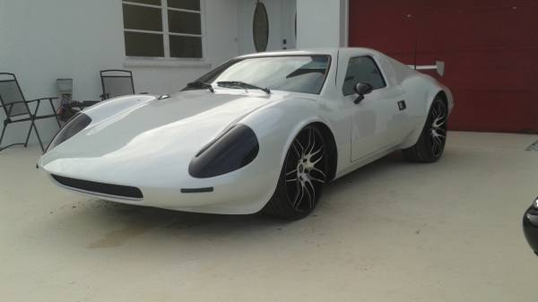 White Kelmark Gt Kit Car For Sale