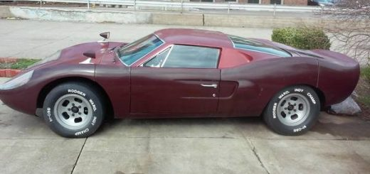 Fiberfab Avenger GT/ Gt 40 Replica Kit Car