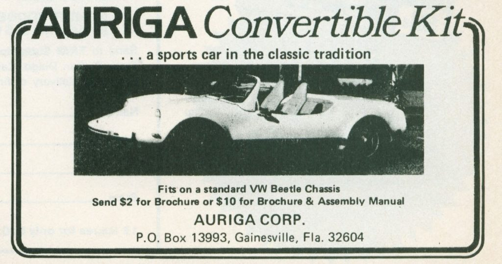 Auriga VW Kit Car