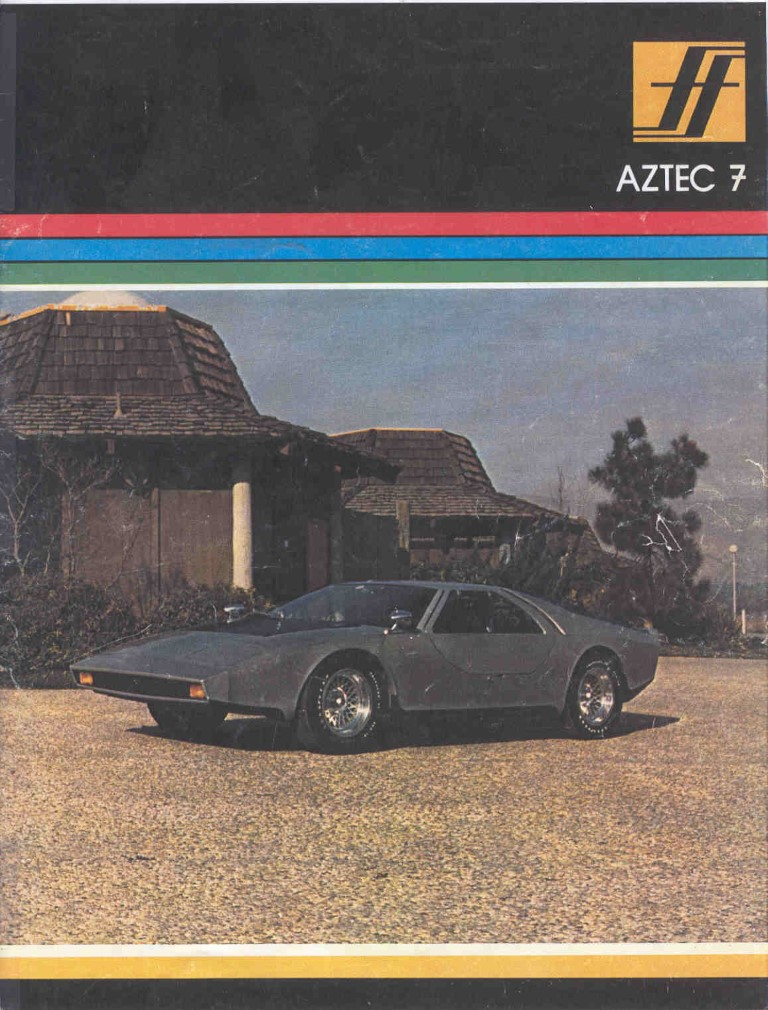 Aztec 7 Vintage Kit Car