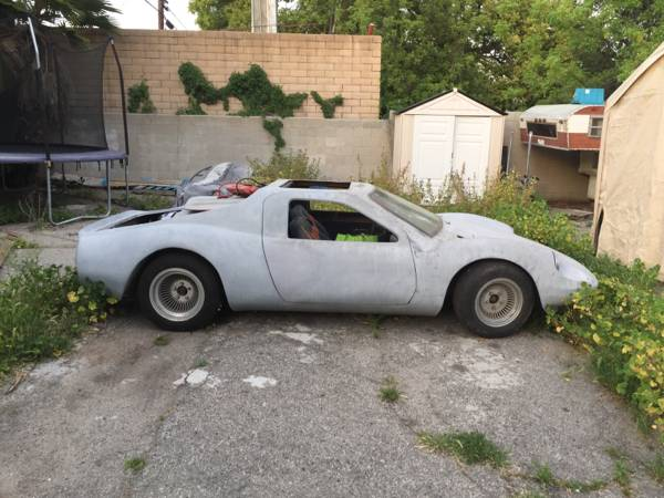 Kelmark GT Kit Car Project Side