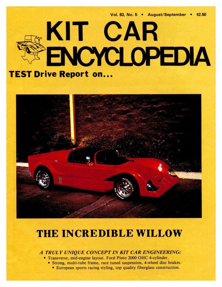 Willow Sports Cars Advertisement